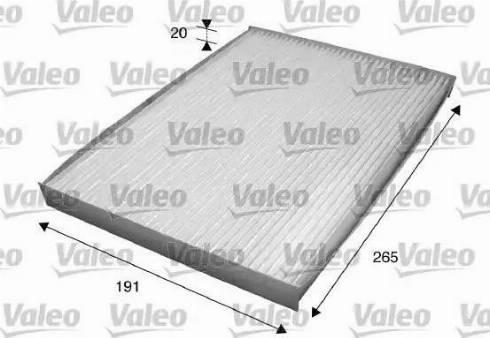 Valeo 715559 - Φίλτρο, αέρας εσωτερικού χώρου asparts.gr