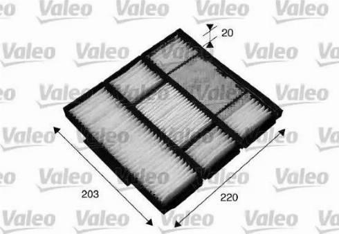 Valeo 715565 - Φίλτρο, αέρας εσωτερικού χώρου asparts.gr