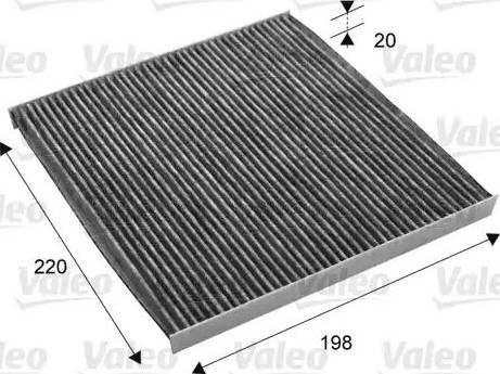 Valeo 715701 - Φίλτρο, αέρας εσωτερικού χώρου asparts.gr